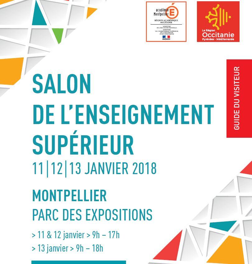 Facult des sciences 11 au 13 janvier parc des expos - Salon de l enseignement superieur montpellier ...
