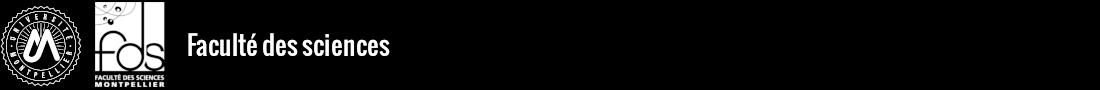 Faculté des sciences Logo